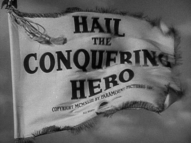 Hail the Conquering Hero movie scenes