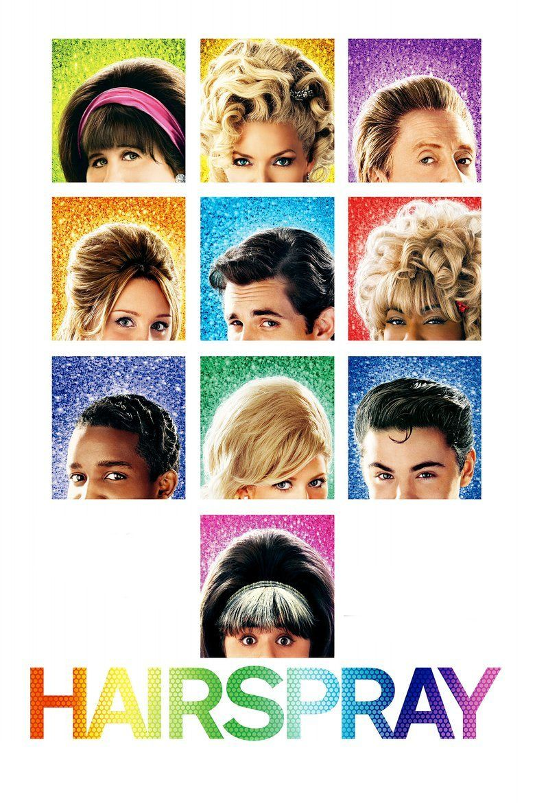 Hairspray (2007 film) movie poster