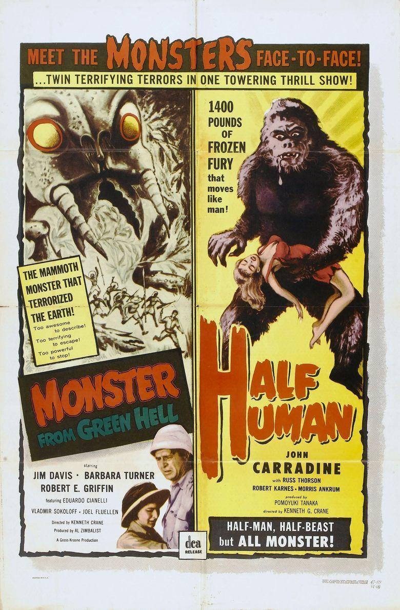 Half Human movie poster