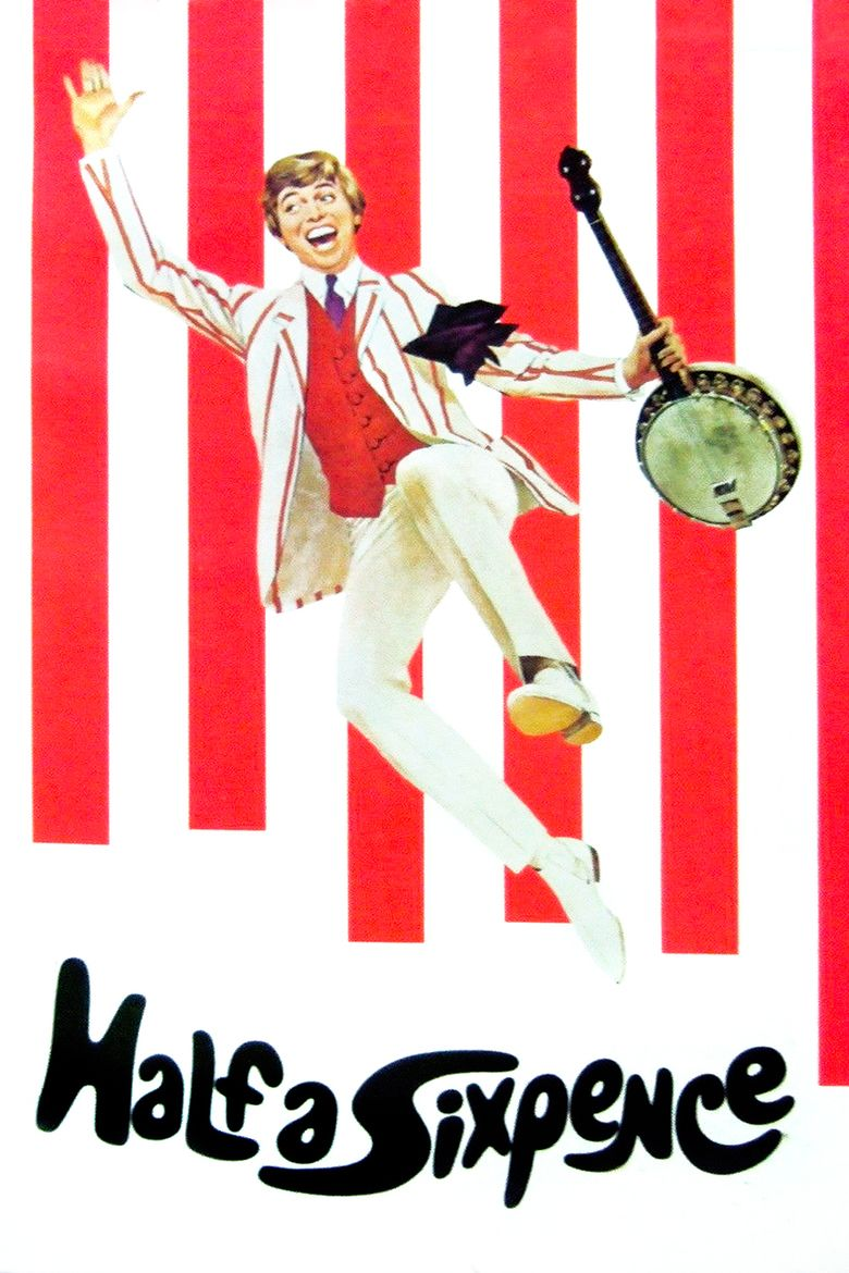 Half a Sixpence (film) movie poster
