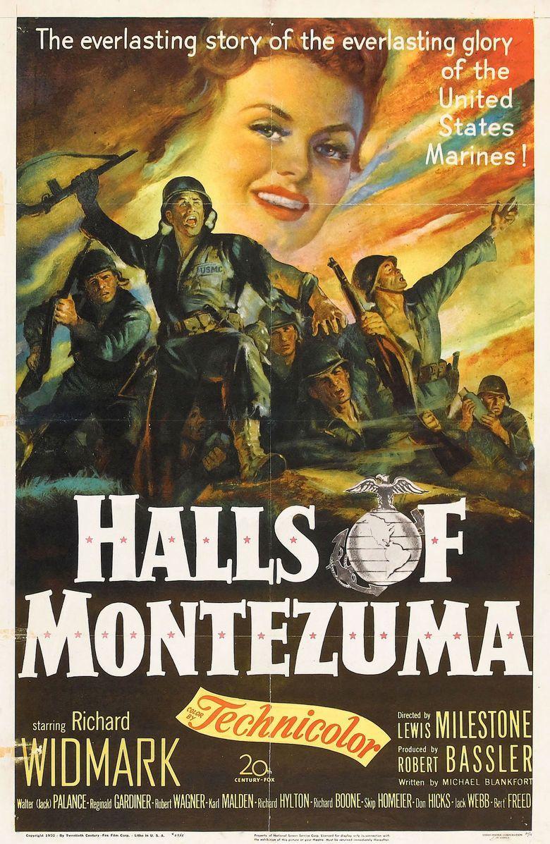 Halls of Montezuma (film) movie poster