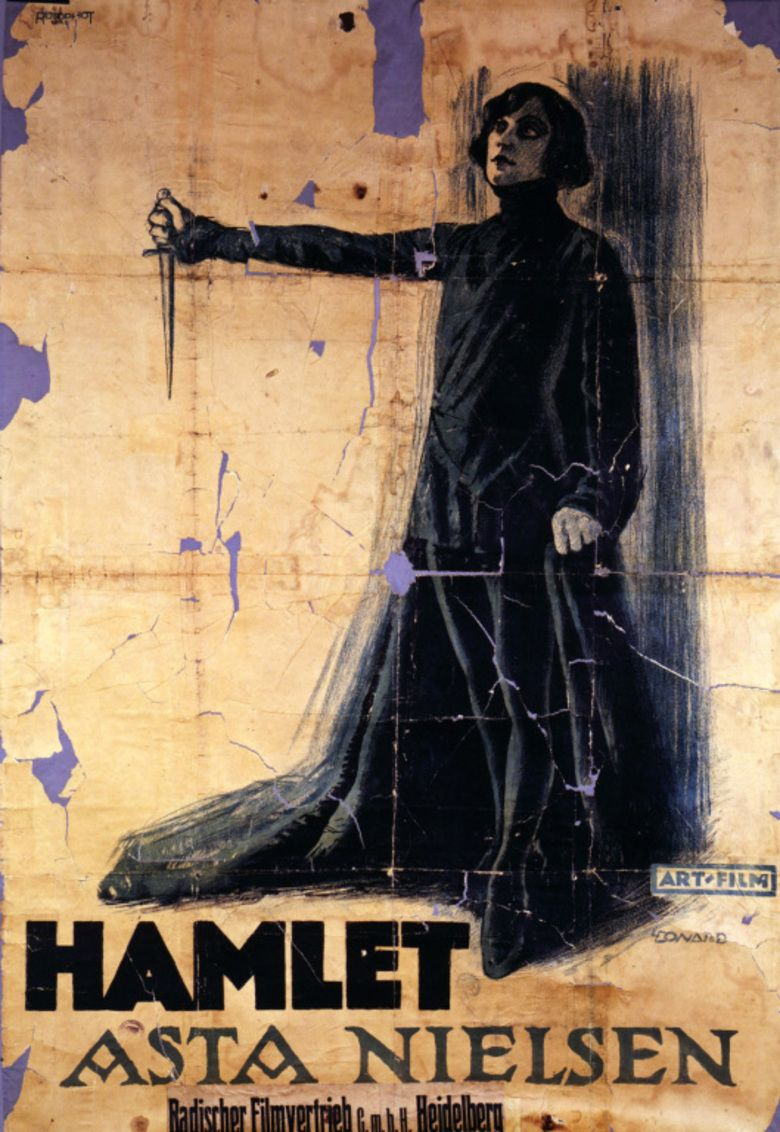 Hamlet (1921 film) movie poster