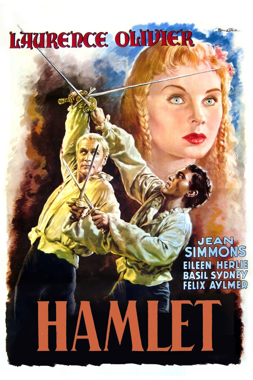 Hamlet (1948 film) movie poster