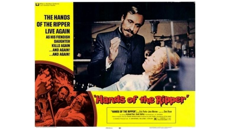 Hands of the Ripper movie scenes