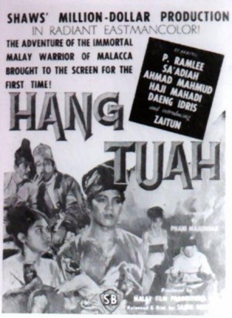 Hang Tuah (film) movie poster