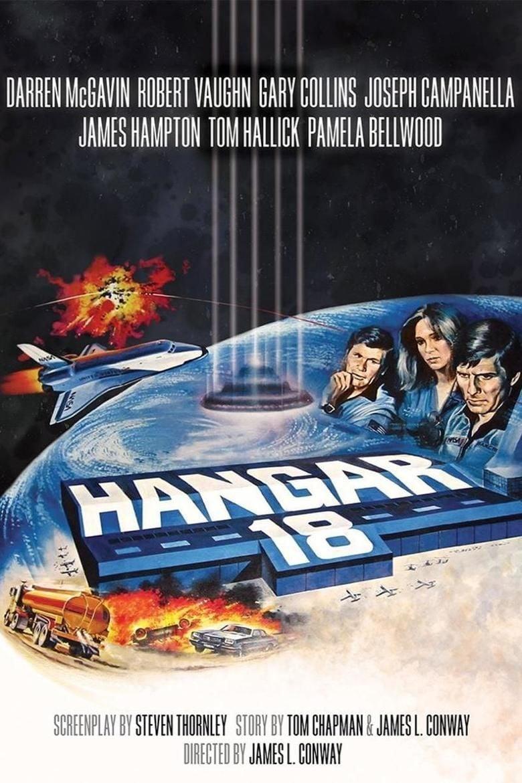 Hangar 18 (film) movie poster