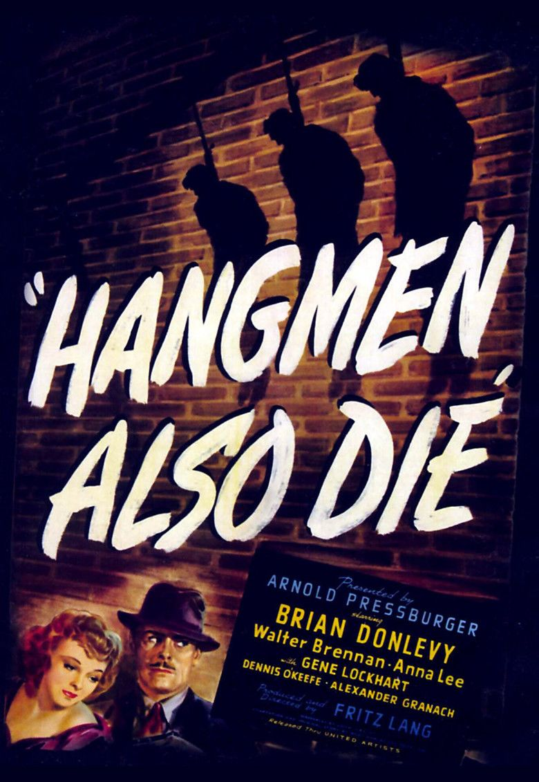 Hangmen Also Die! movie poster