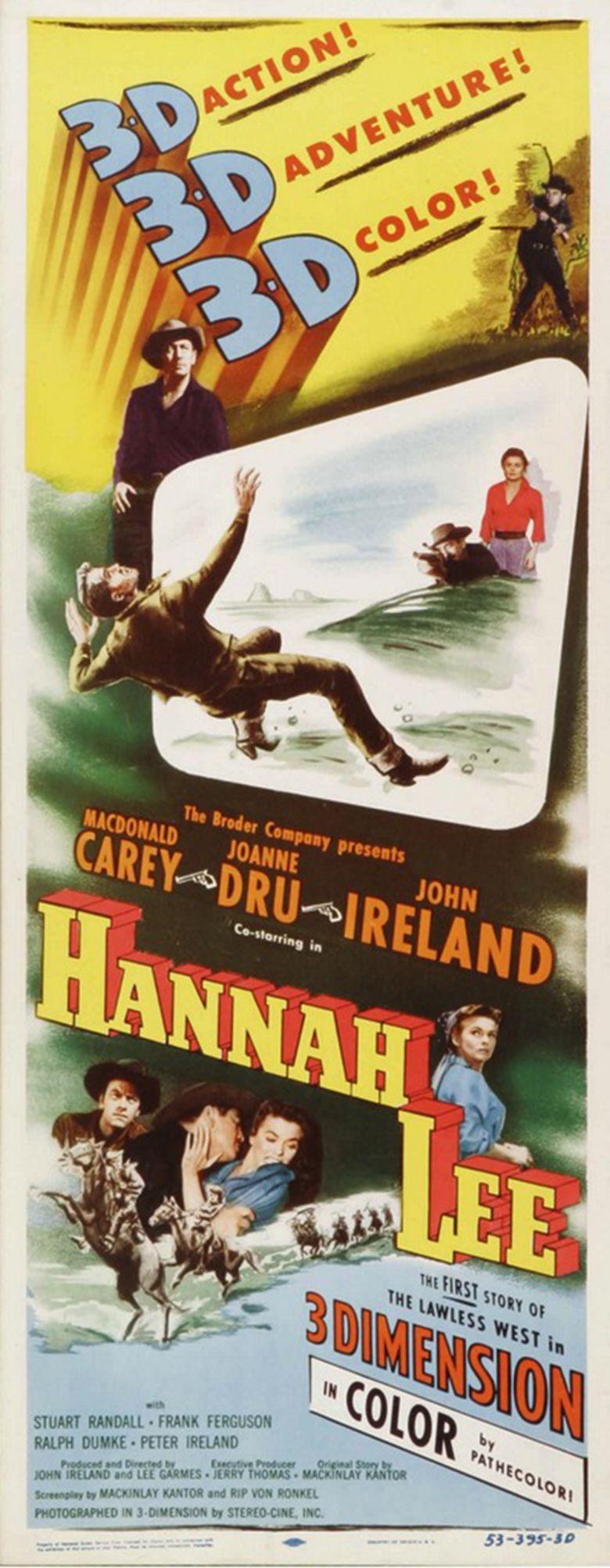 Hannah Lee movie poster