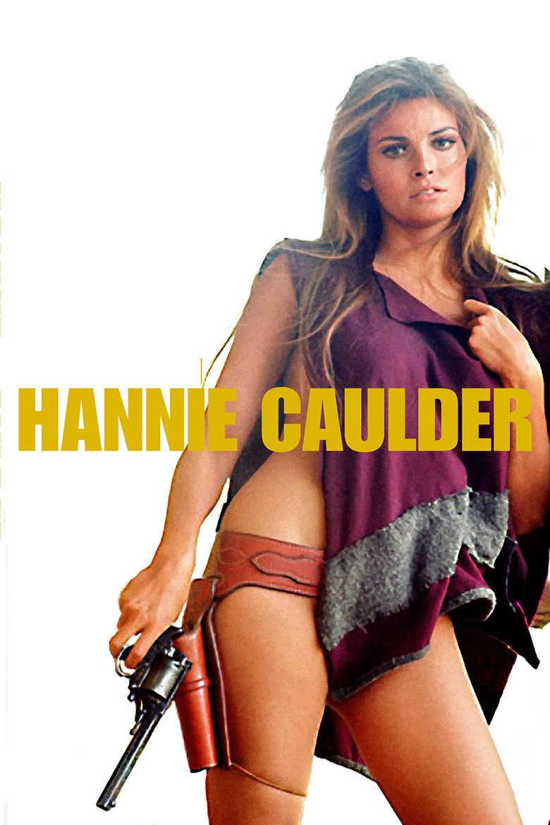 Hannie Caulder movie poster