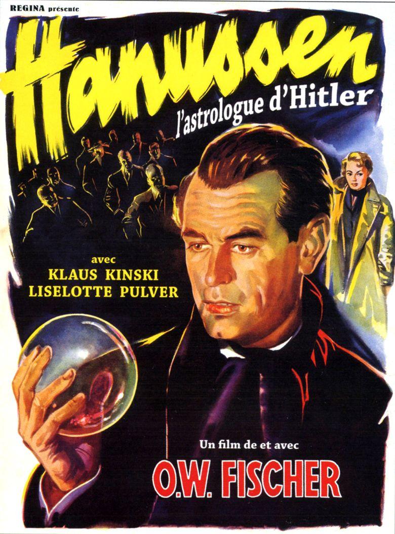 Hanussen (1955 film) movie poster