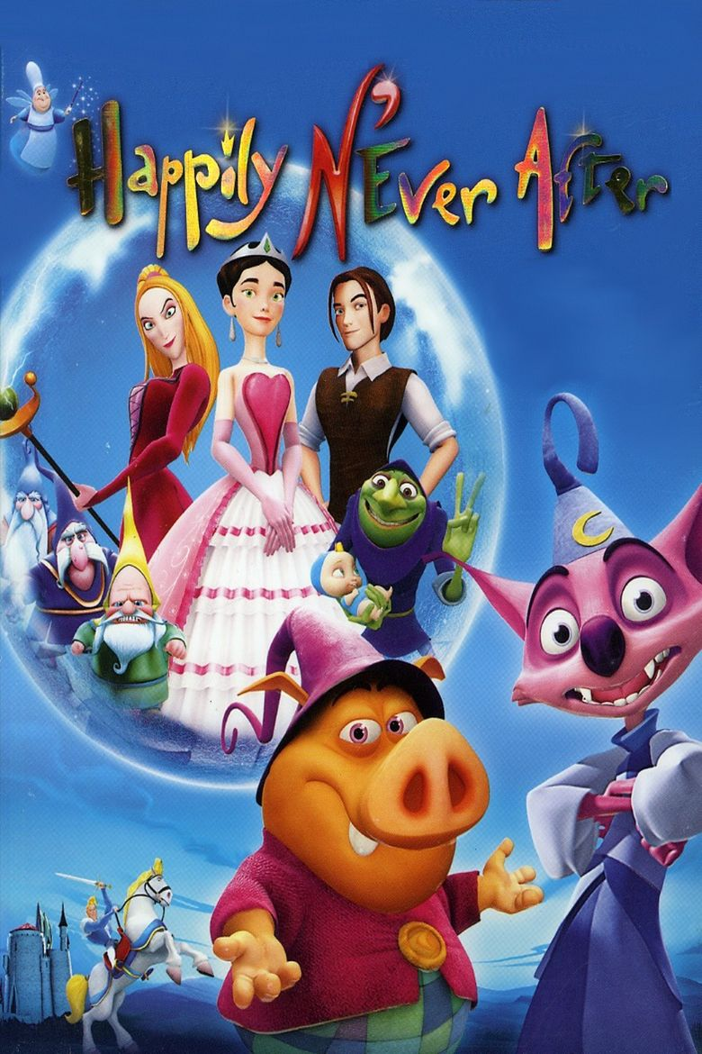 Happily NEver After movie poster