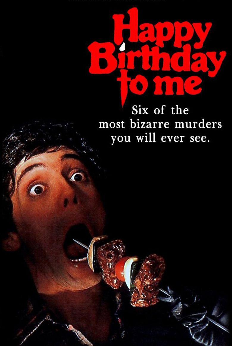 Happy Birthday to Me (film) movie poster