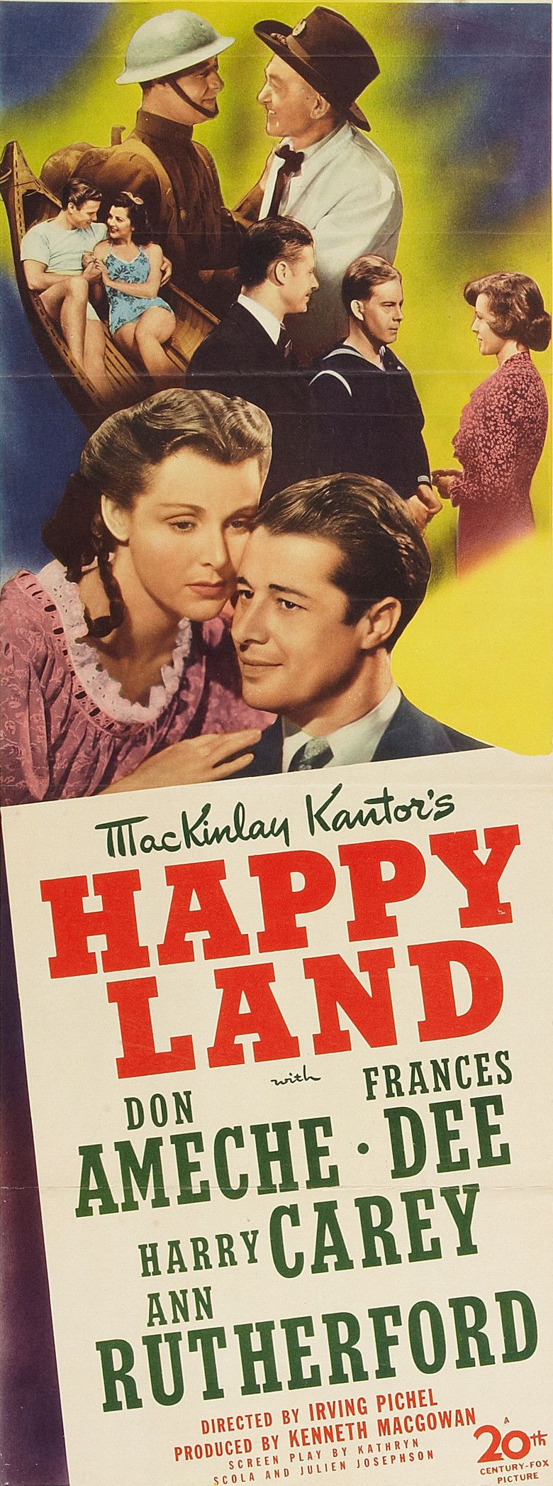 Happy Land (film) movie poster