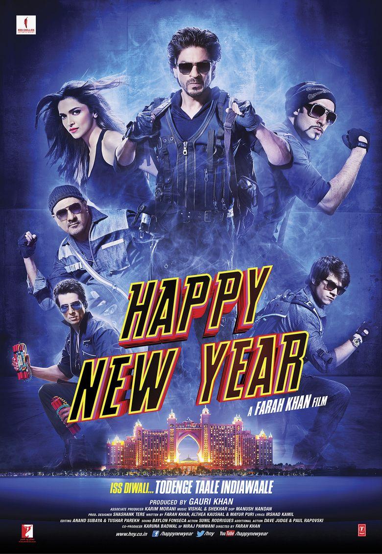 Happy New Year (2014 film) movie poster