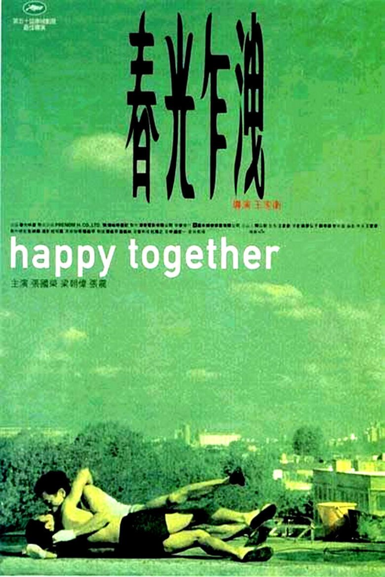 Happy Together (1997 film) movie poster