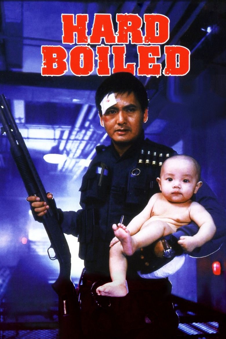 Hard Boiled movie poster