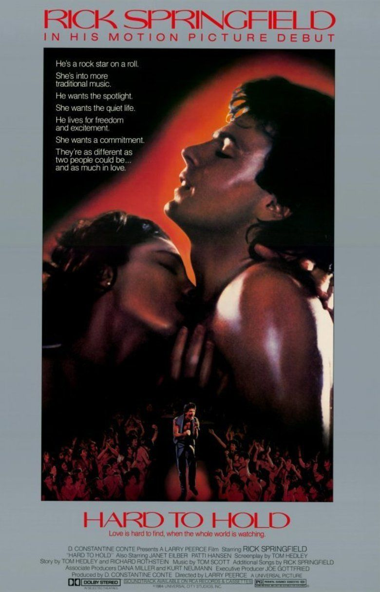 Hard to Hold (film) movie poster