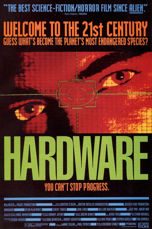 Hardware (film) movie poster