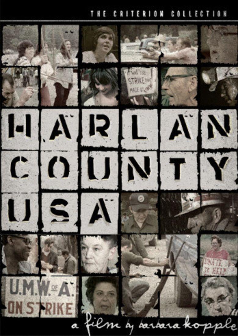 Harlan County, USA movie poster