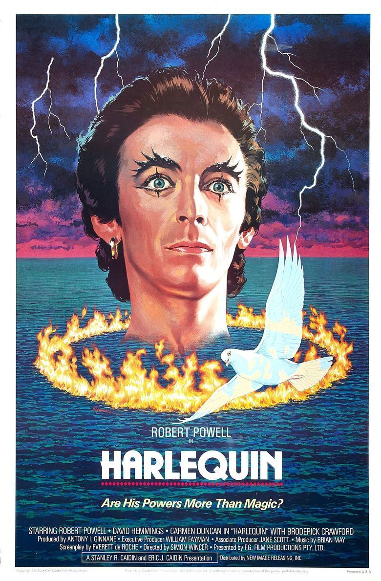 Harlequin (film) movie poster