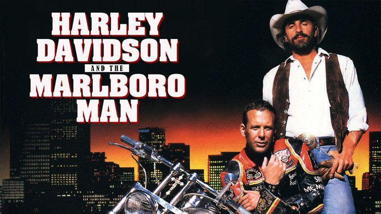 Harley Davidson and the Marlboro Man movie scenes