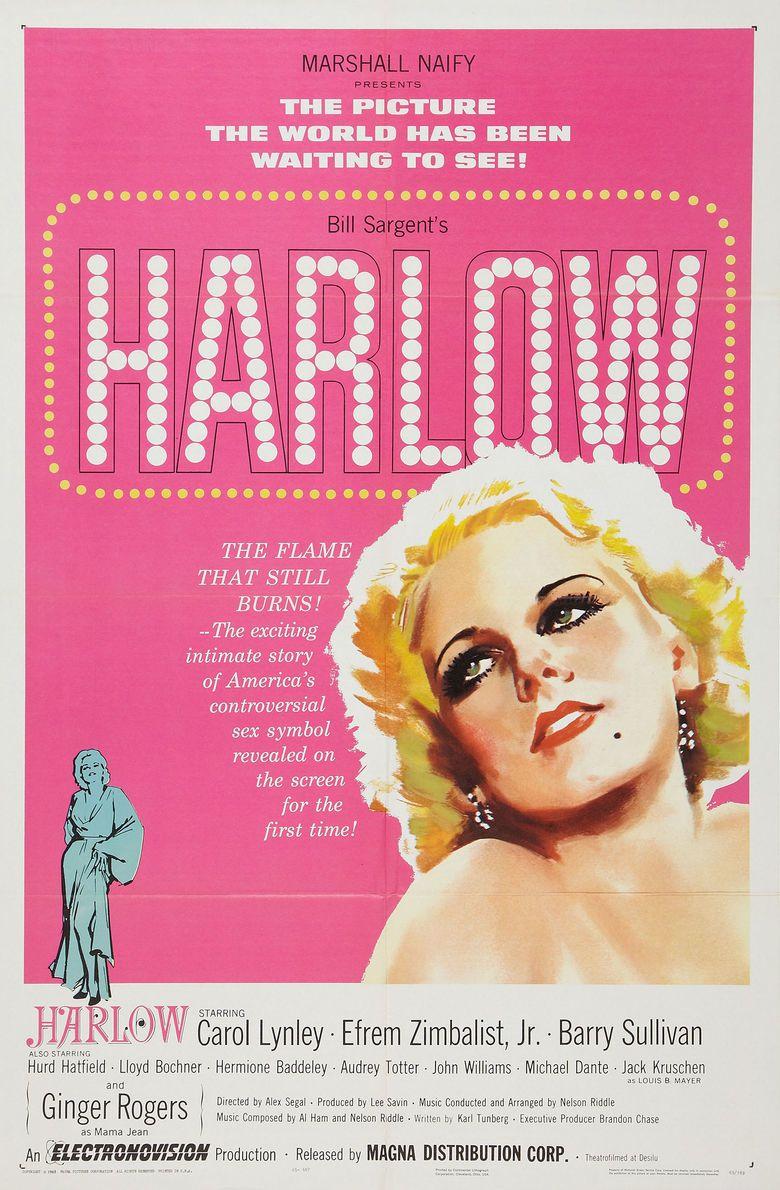 Harlow (Paramount film) movie poster