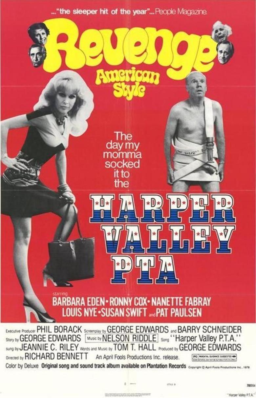 Harper Valley PTA (film) movie poster