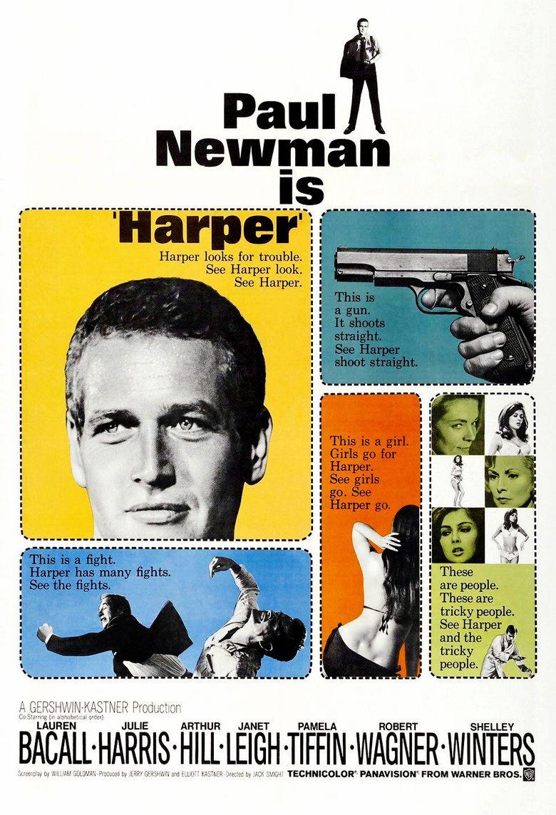 Harper (film) movie poster