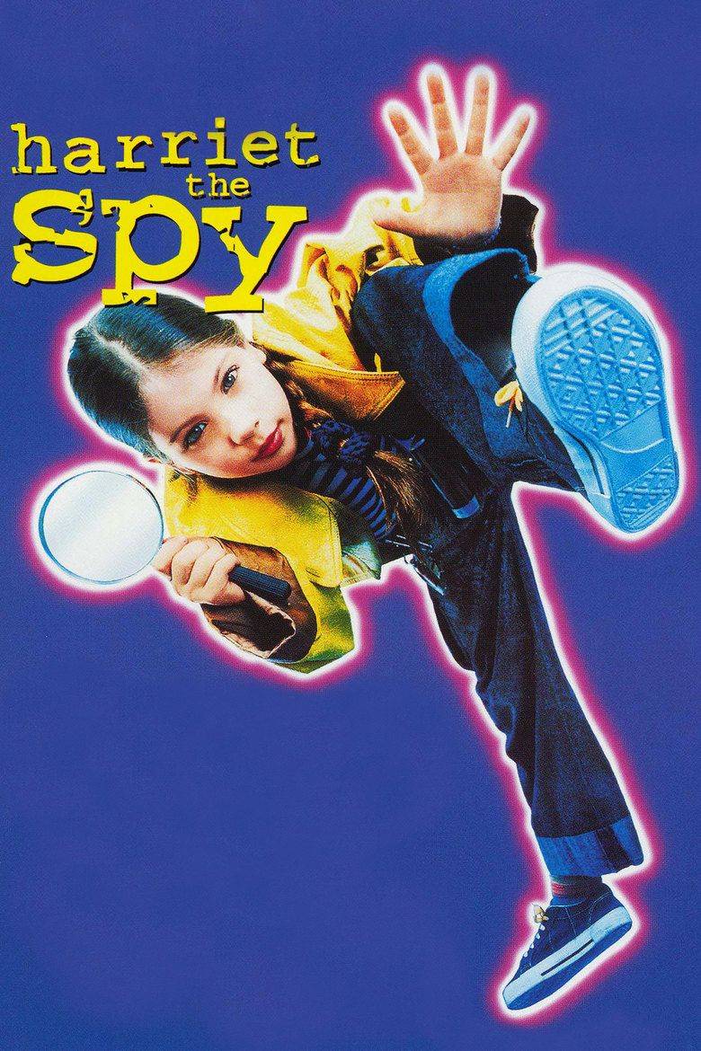 Harriet the Spy (film) movie poster