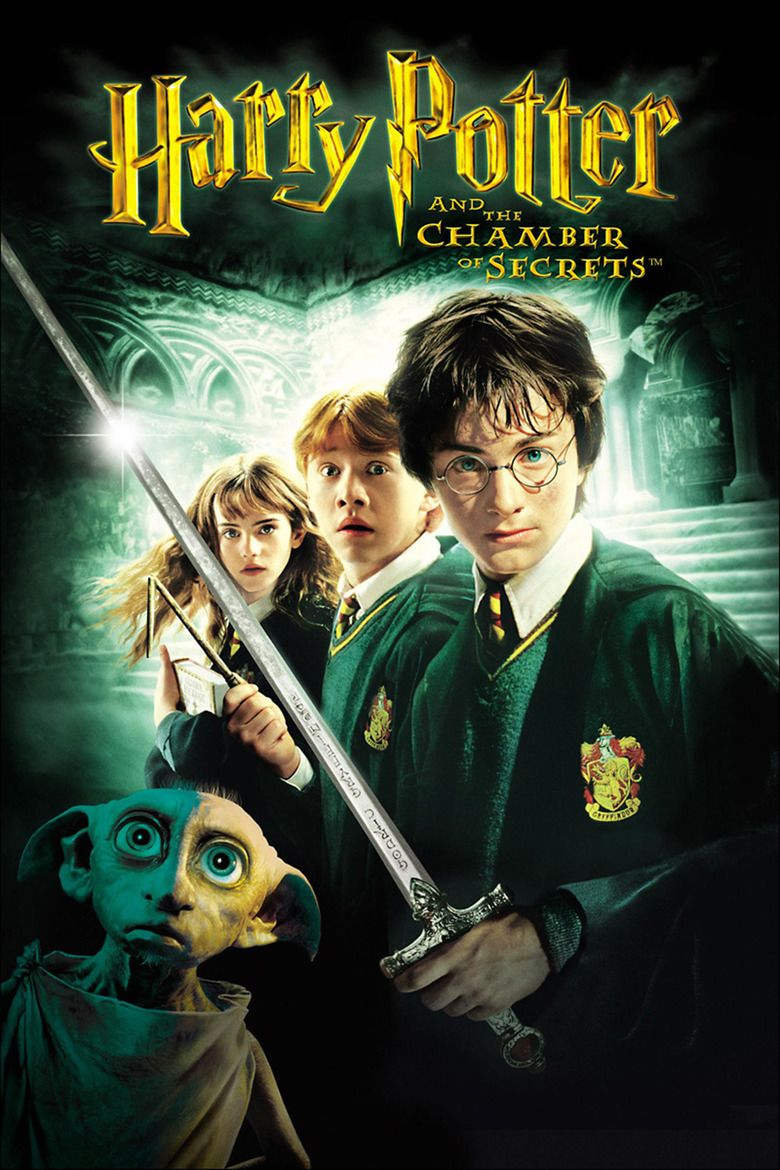 Harry Potter and the Chamber of Secrets (film) movie poster