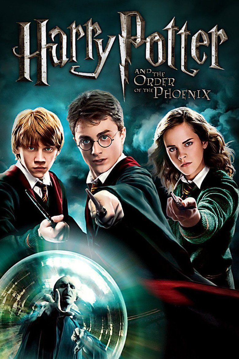 Harry Potter and the Order of the Phoenix (film) movie poster