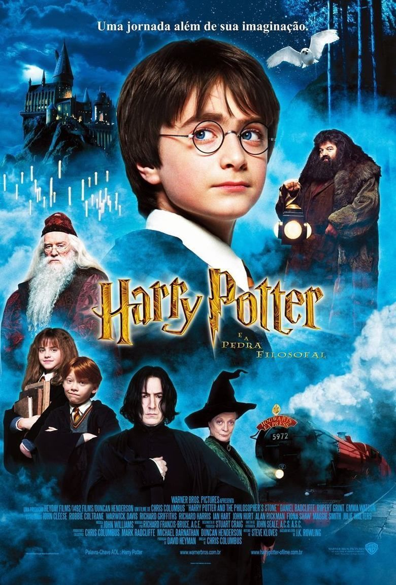 Harry Potter and the Philosophers Stone (film) movie poster