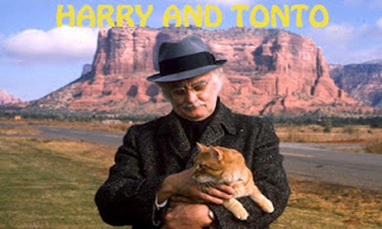 Harry and Tonto movie scenes