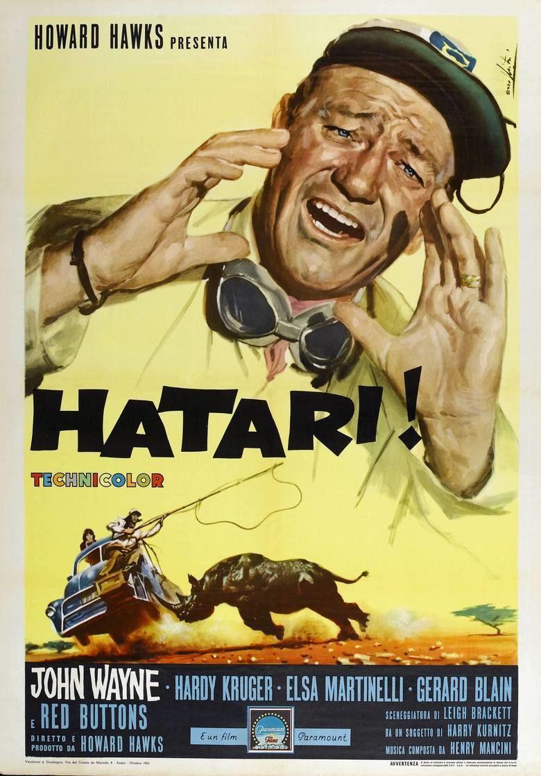 Hatari! movie poster