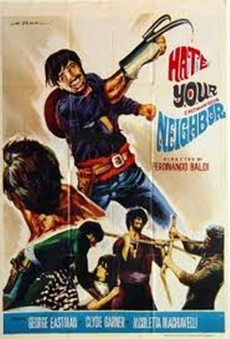 Hate Thy Neighbor movie poster