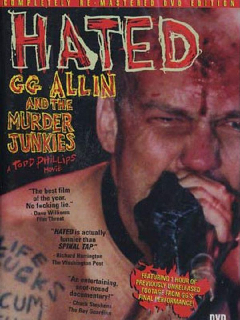 Hated: GG Allin and the Murder Junkies movie poster