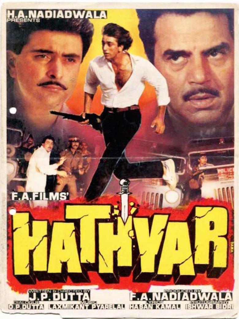 Hathyar (1989 film) movie poster