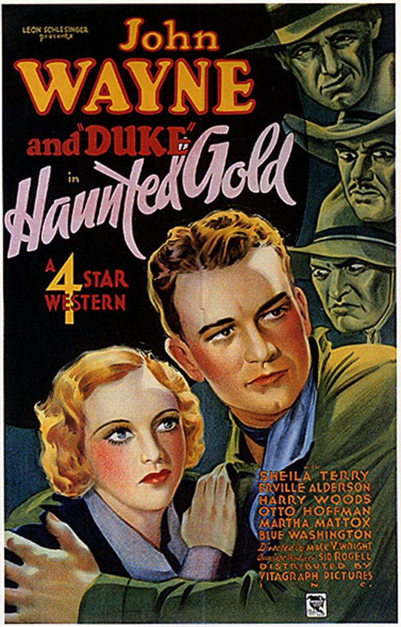 Haunted Gold movie poster