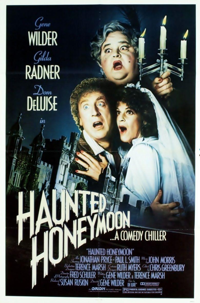 Haunted Honeymoon movie poster