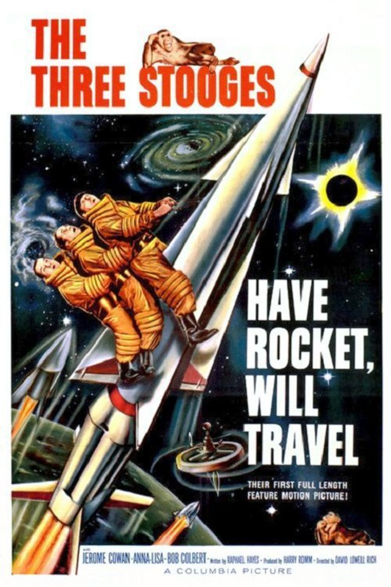 Have Rocket, Will Travel movie poster