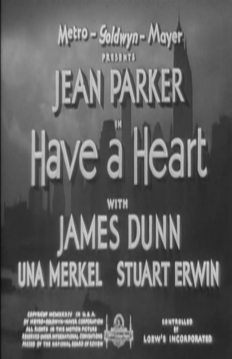 Have a Heart (film) movie poster