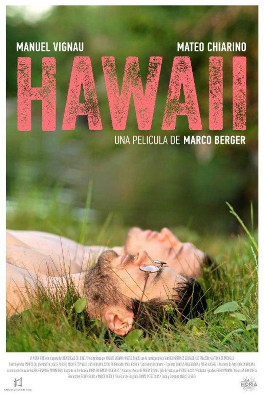 Hawaii (2013 film) movie poster