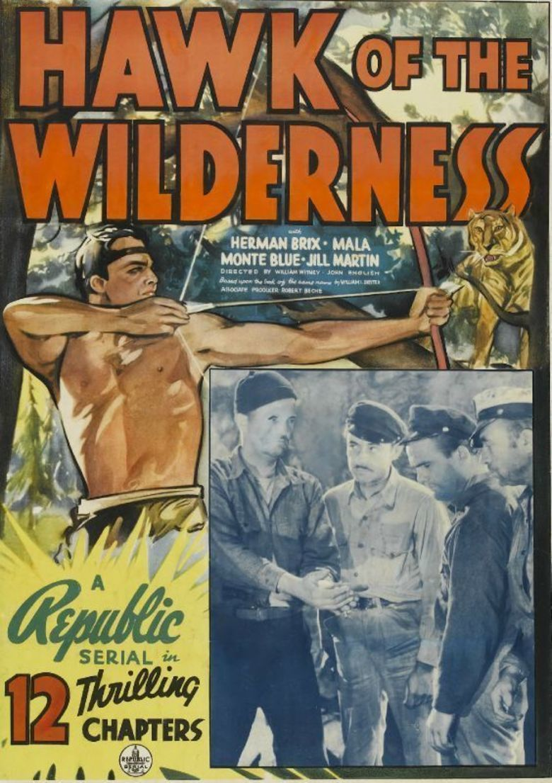 Hawk of the Wilderness movie poster