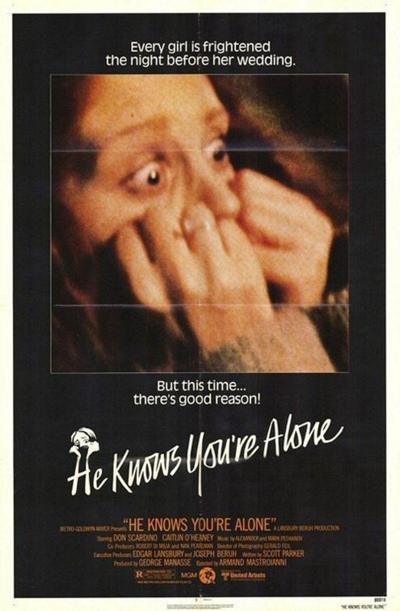 He Knows Youre Alone movie poster