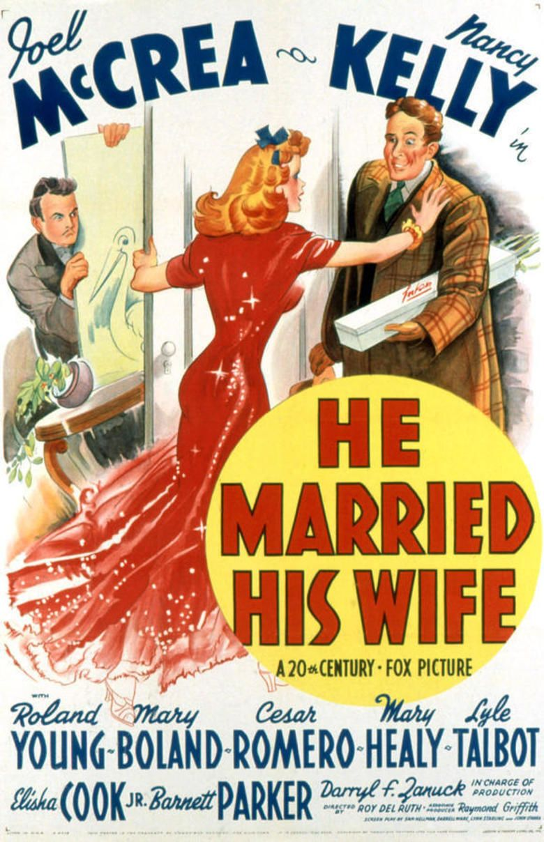 He Married His Wife movie poster