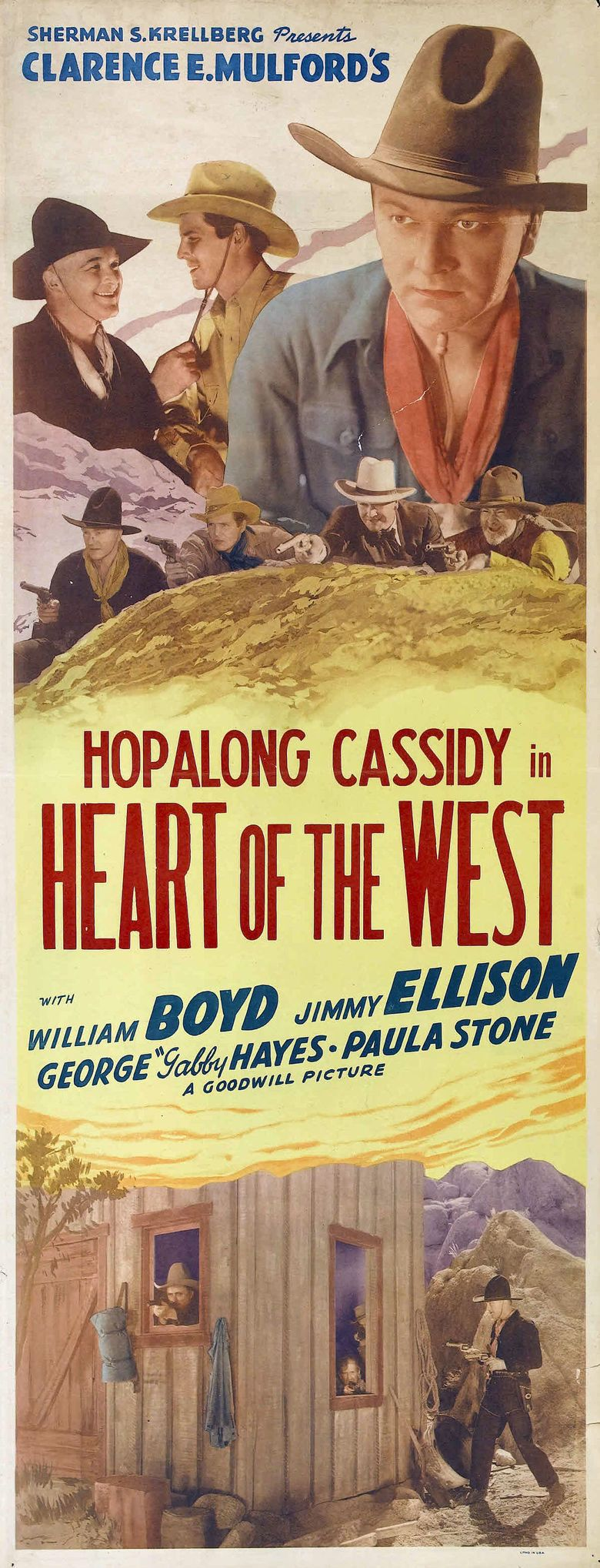 Heart of the West (film) movie poster