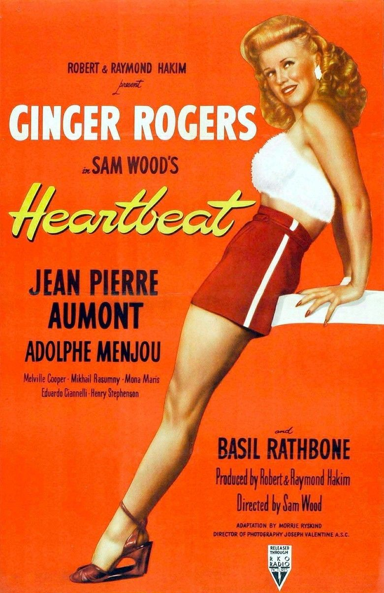 Heartbeat (1946 film) movie poster