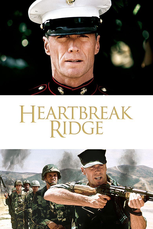 Heartbreak Ridge movie poster