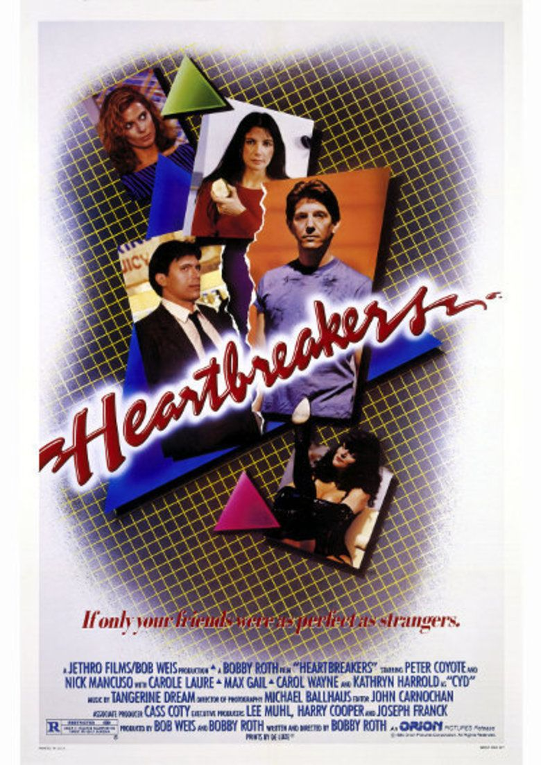 Heartbreakers (1984 film) movie poster