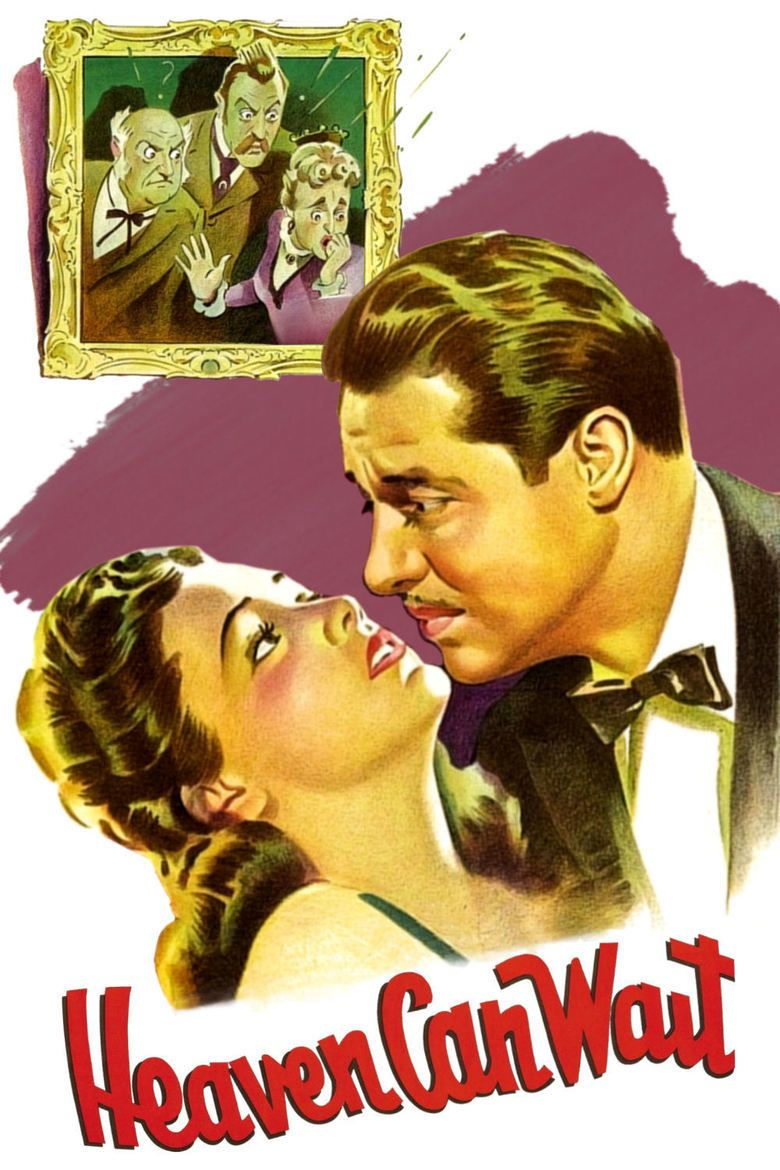 Heaven Can Wait (1943 film) movie poster